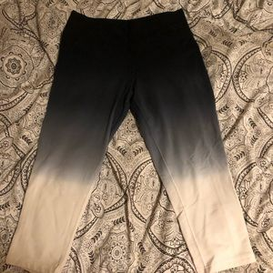 Nike ombré yoga tights (size small)